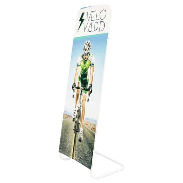 InkRabbit Leaning Indoor Tension Banner Stand